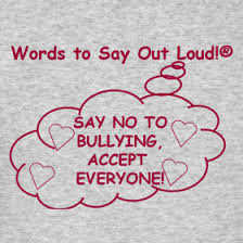 say out loud love and no bullying