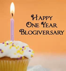 1 yr blogiversary