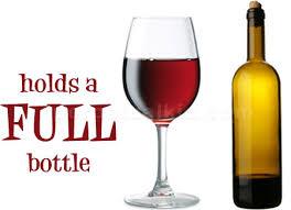 big glass of red wine