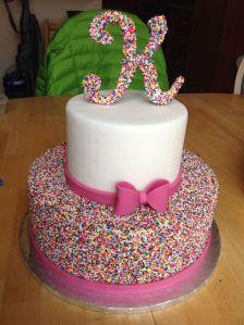birthday cake K
