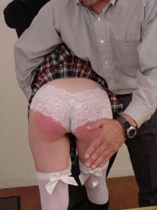 image Husband spanks wife for the credit card bill