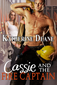 cassie and the fire captain KD cover
