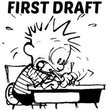 calvin first draft