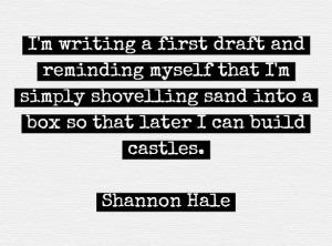 sand castle quote