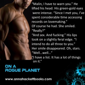 Anna Hackett - On a Rogue Planet 2