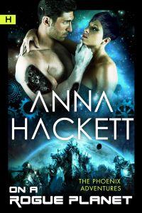 Anna Hackett - OnARoguePlanet_cover